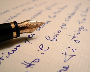 pen_and_blue_writing